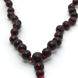 "Handmade Prayer Mala Beads Chanting Japa- Rosewood - 108 Prayer Beads 19"" Long"