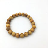 Bracelet Bead Amazon Rainforest Grown Palo Santo Raw Beads Bracelet - 22 Beads