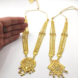 2 Necklaces for Radha-Krishna Deity Statues - Decorative and Elegant - 10""