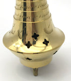 Brass Decorative Incense Charcoal Resin Burner Holder Jali -Elegant and Lovely