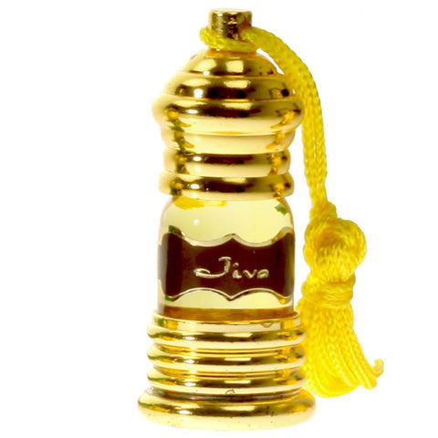 Perfume Oil Attar Oil Jiva for Vitality -3ml No Parabens No Phthalates No Dyes Oil