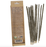 10 Vegan Myrrh Smudging Incense Sticks - Myrrh - Natural Resin Incense sticks
