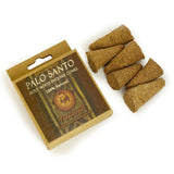 Palo Santo Incense Traditional - Power & Purification - 6 Handmade Incense Cones
