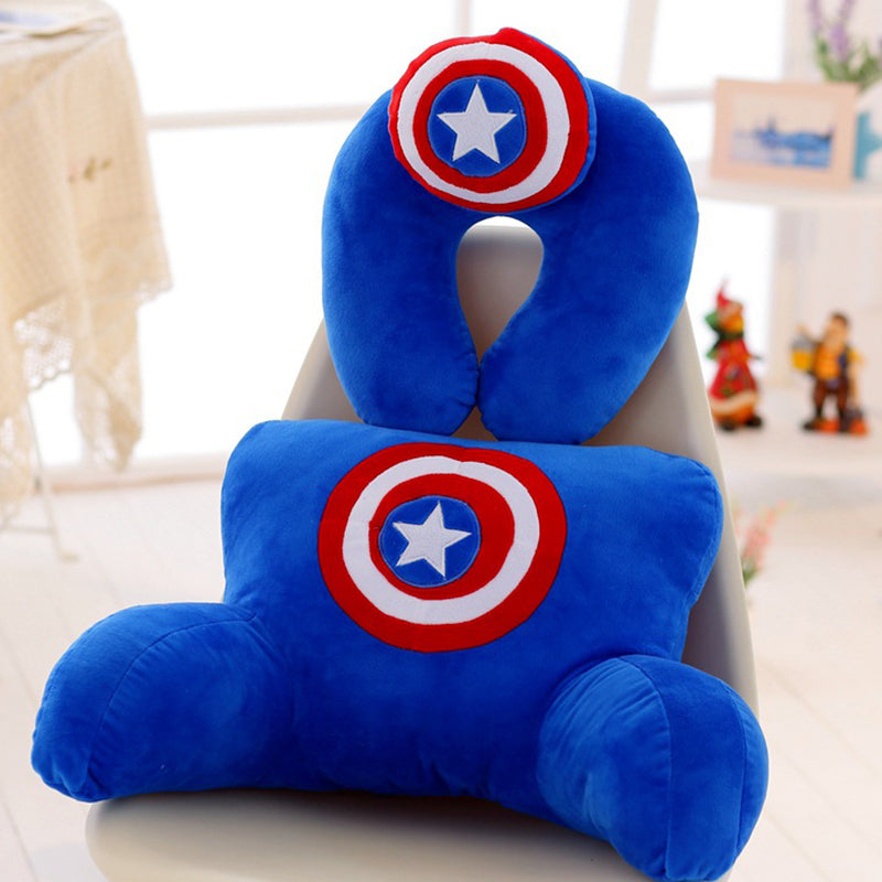 Hot Sale The Avengers Alliance Series U Shaped Pillow Lumbar Pillow