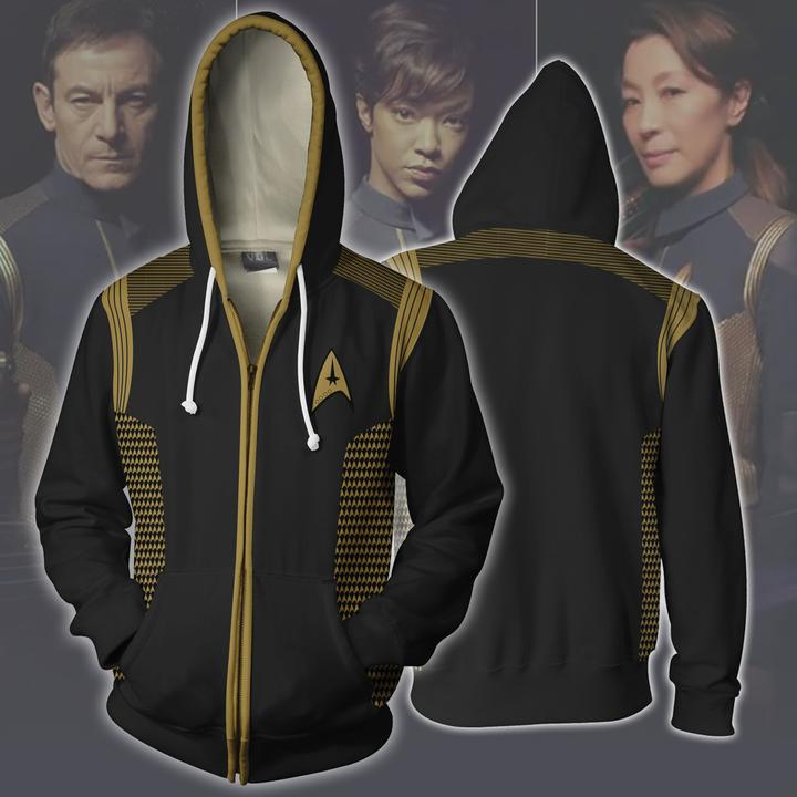 Star Trek 3Dprint Zip-up Hoodie