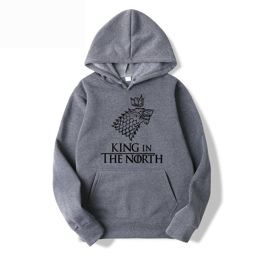 GOT Stark Family King in The North Hoodie