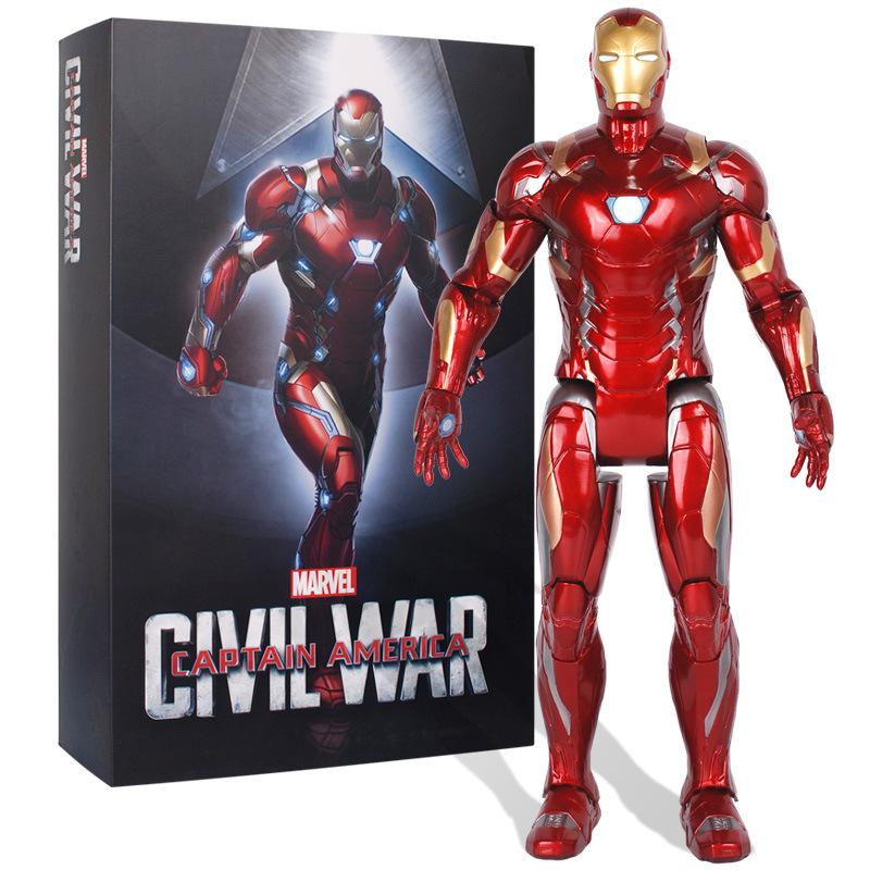 Avengers:Captain America&Iron Man Luminous Model