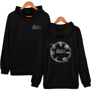 GOT Print Zip-up Hoodie