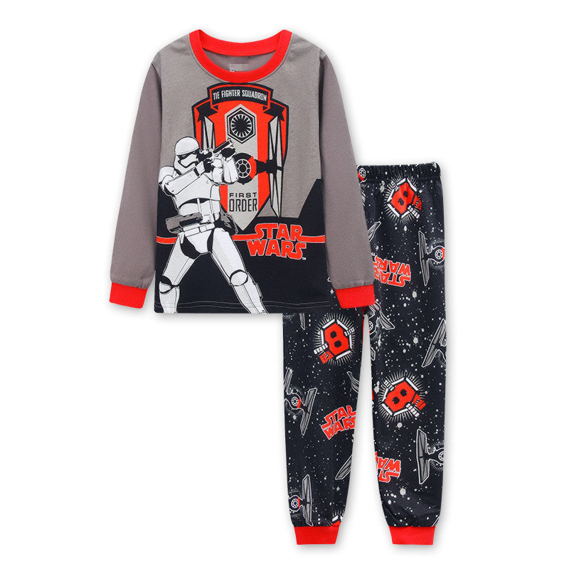 Pure Cotton Iron-Man Pajamas for Kids