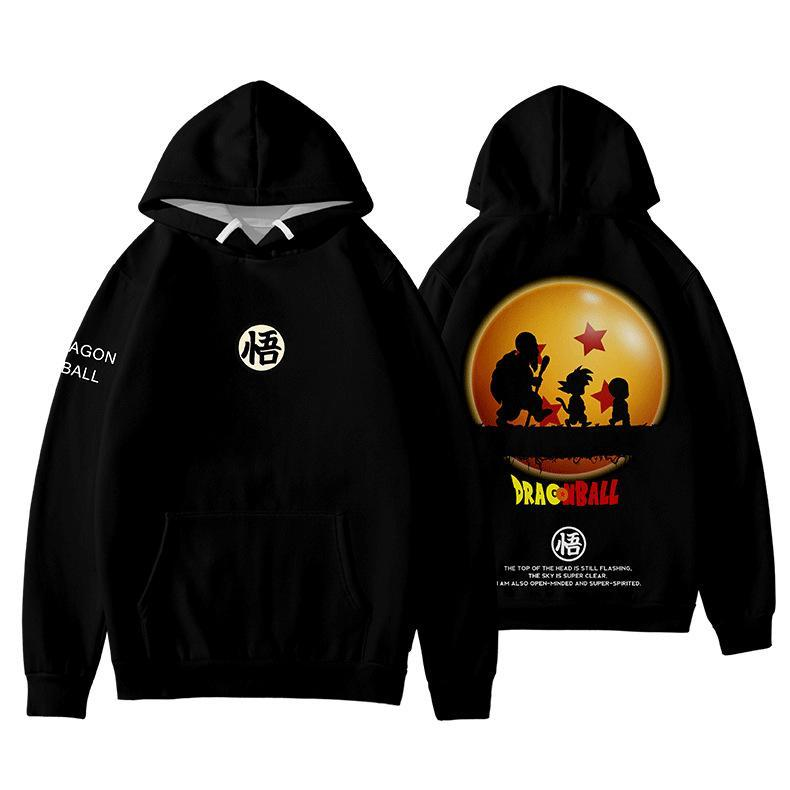 Dragon Ball cool 3D Print Hoodie