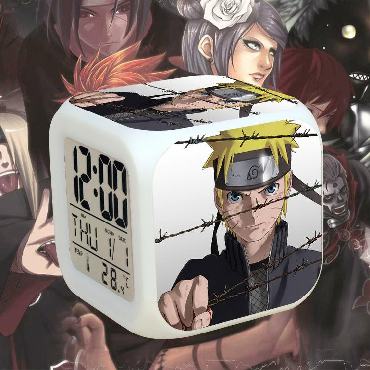 Naruto Colorful Alarm Clock
