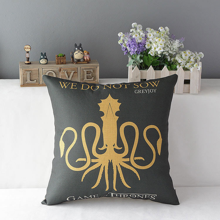 Game of Thrones House Greyjoy Hold Pillow