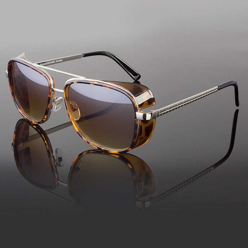 Trendy Iron Man Tony Stark Sunglasses