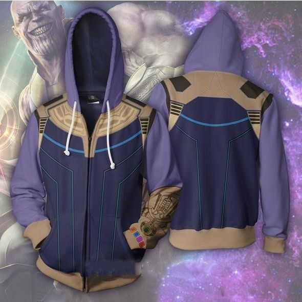 The Avengers Thanos hoodies