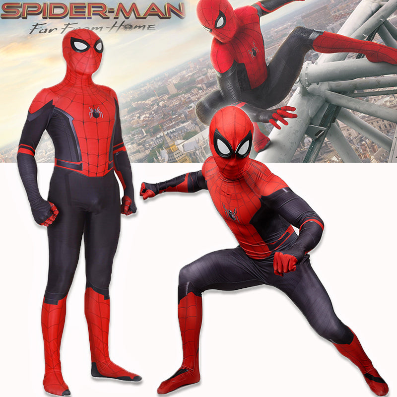 Spider-Man: Far From Home Cosplay Onesies for Adult
