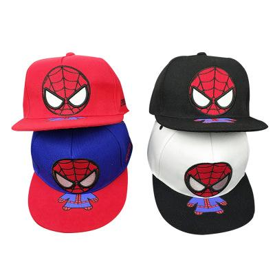 Cute Spiderman Hip-Hop Cap for Kids