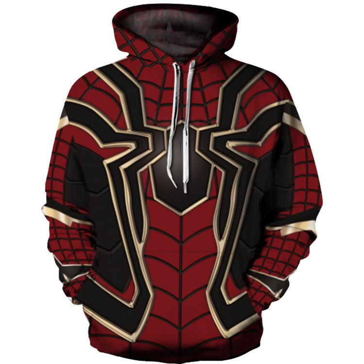 The Avengers Spiderman 3D Printed Hoodie