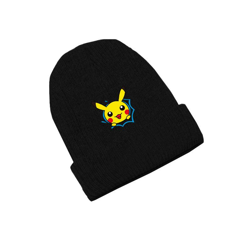Pikachu Thick Knitted Hat
