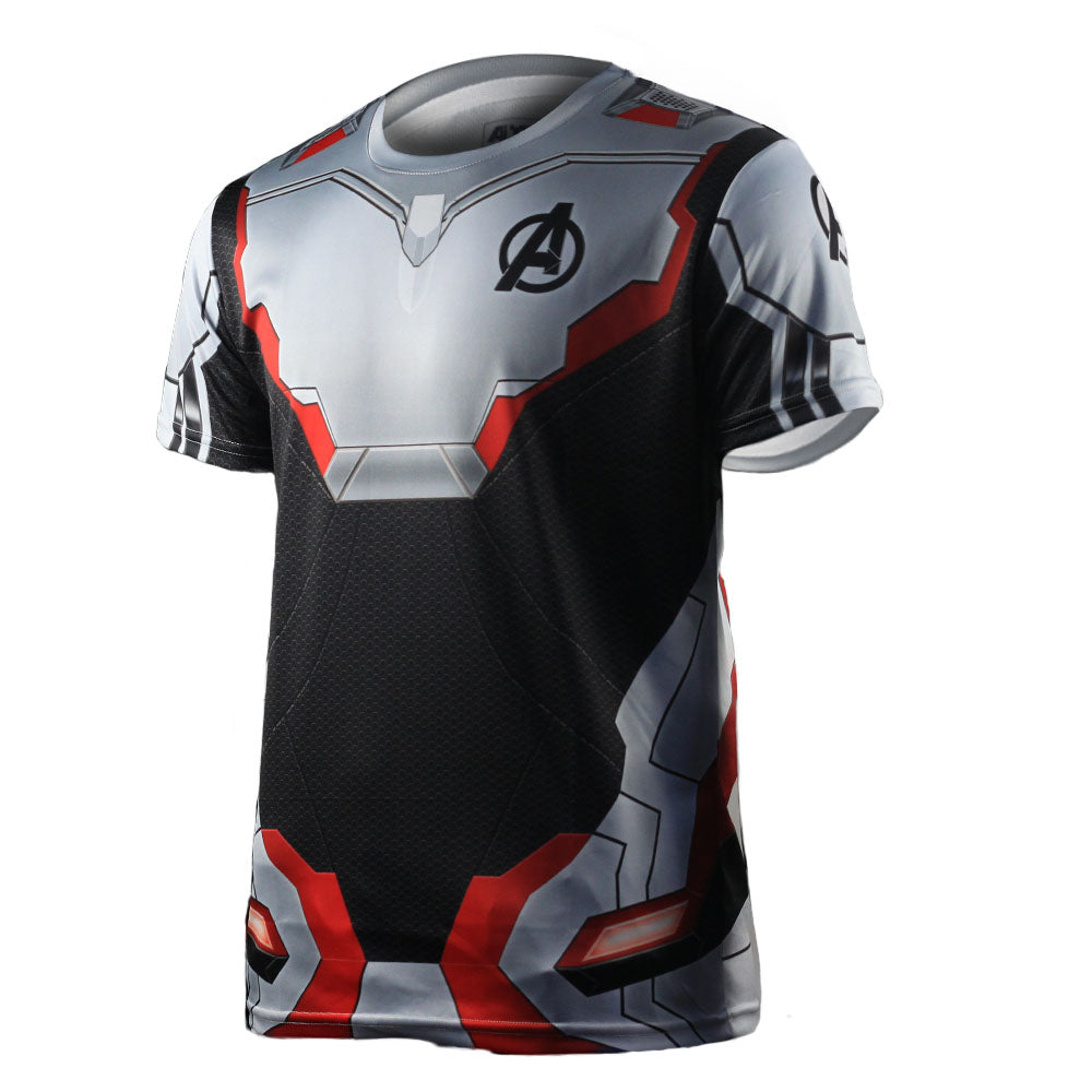 Avengers 4: Endgame Quantum battle suit 3D short sleeve T shirt