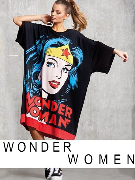 Wonder Woman loose dress