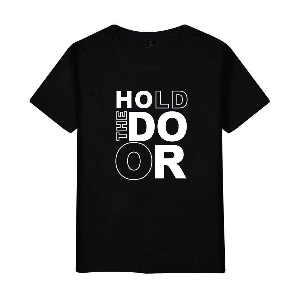 Game of Thrones Hold The Door Printed T-shirt