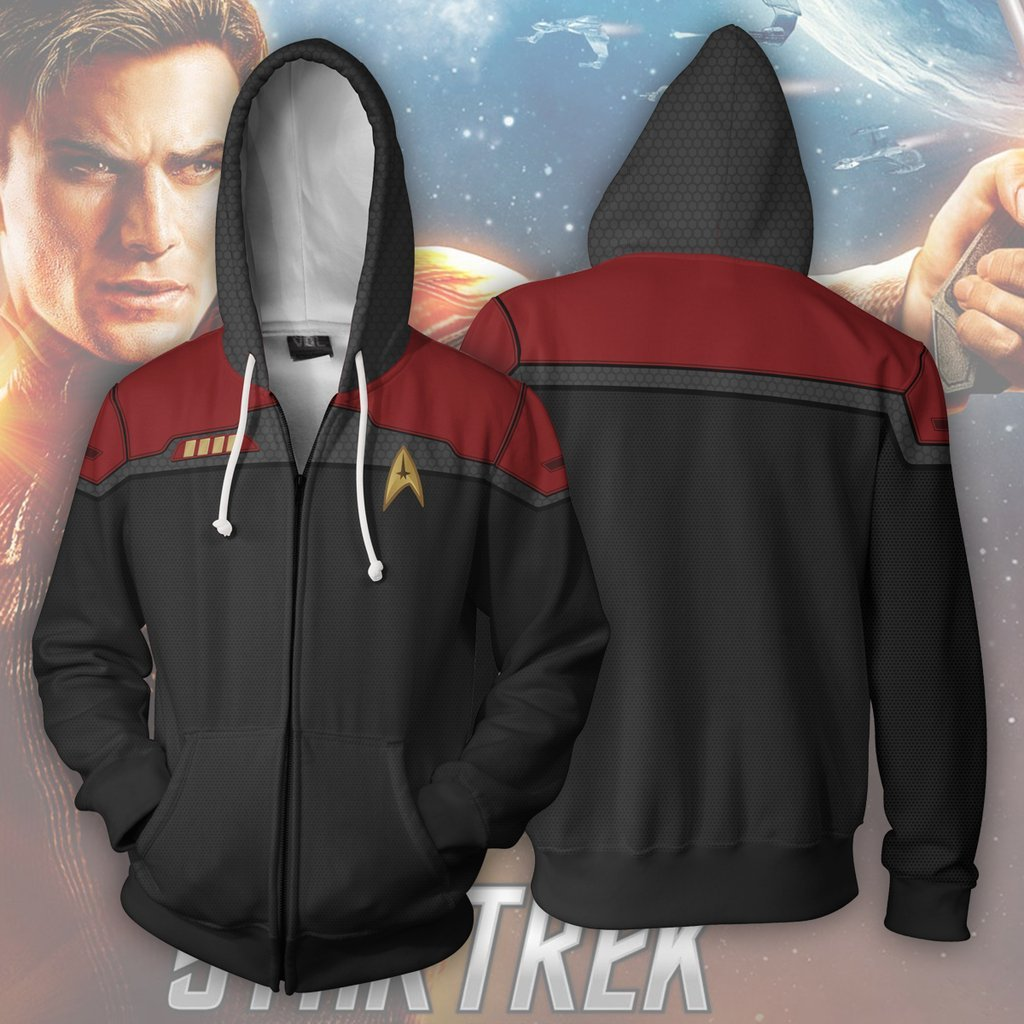 ST Series Cosplay Zip-up Hoodies