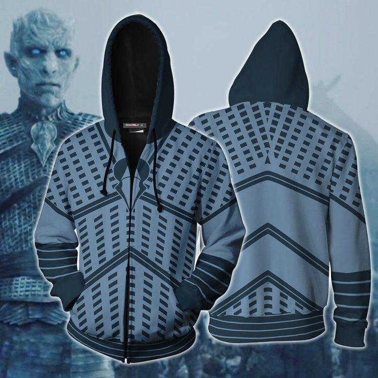 Game of Thrones  white walkers Printed Hoodie