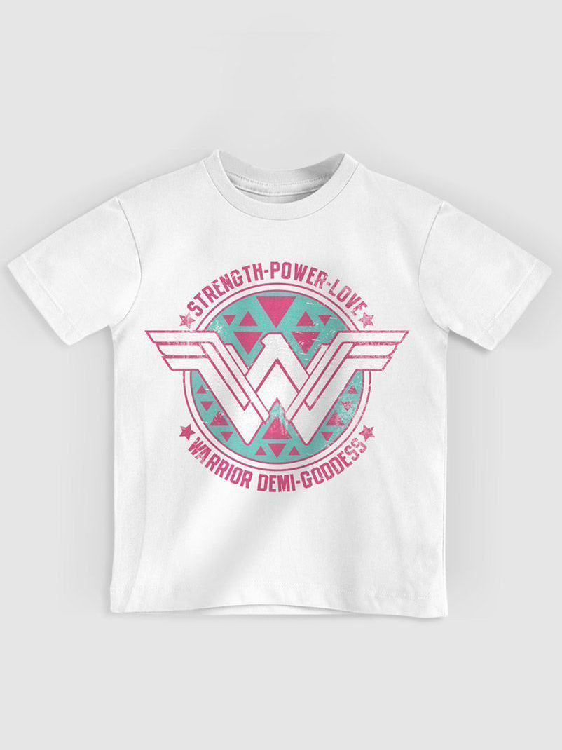 Wonder Woman White Girl T-shirt TOPS