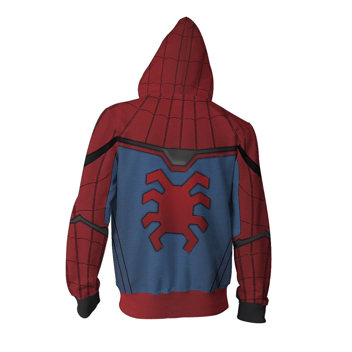 Spider Man Far Form Home Zipper Hoodie