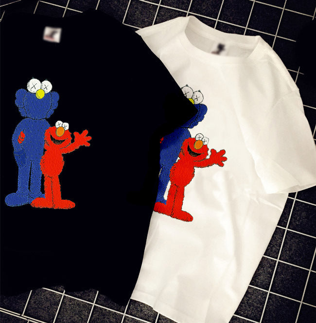 Cool KAWS summer unisex cotton T Shirts