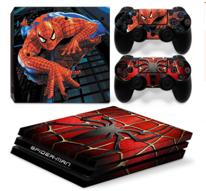 Spider-man Playstation 4 sticker