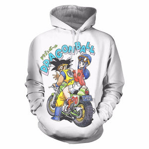 Dragon Ball trendy Print Hoodie