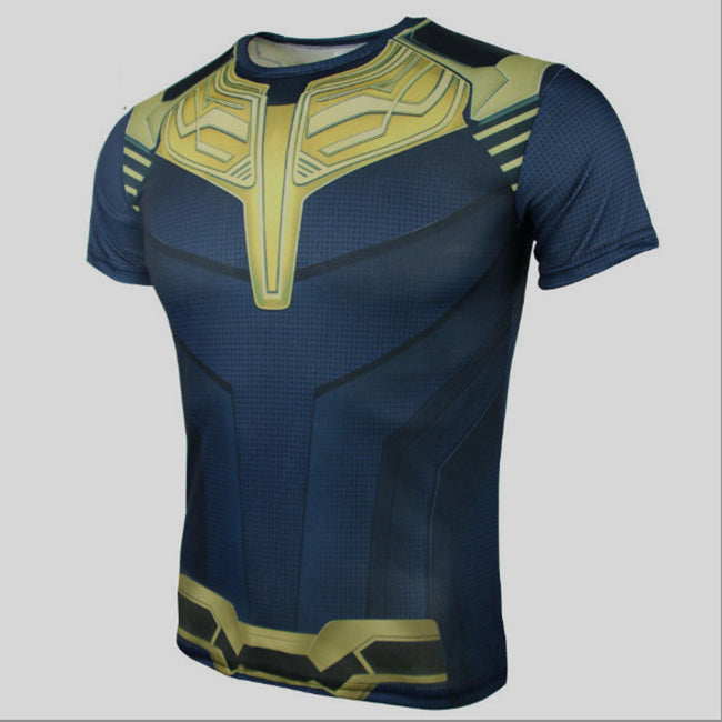 Avengers Thanos unisex loose short sleeve t-shirt
