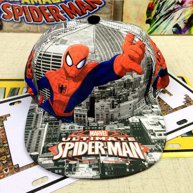 Cool Spider-man Baseball Cap For Kids