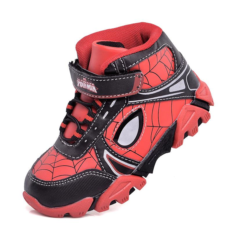 Stylish Spider-man High-top Sports Shoes for Kids