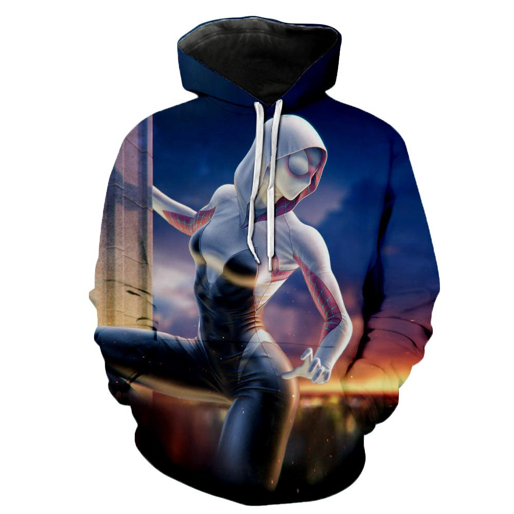 Into the Spider-Verse:Gwen Stacy Style Hoodie