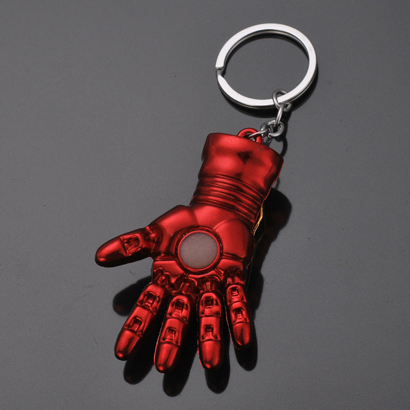 Iron Man Zinc Alloy Palm Keychain