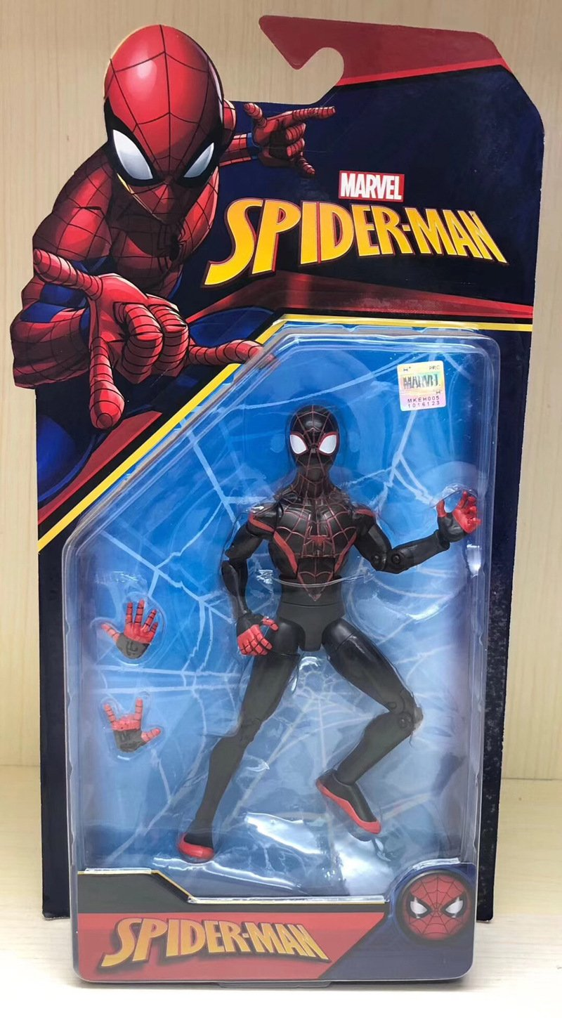 New Spider-Man Movable Model
