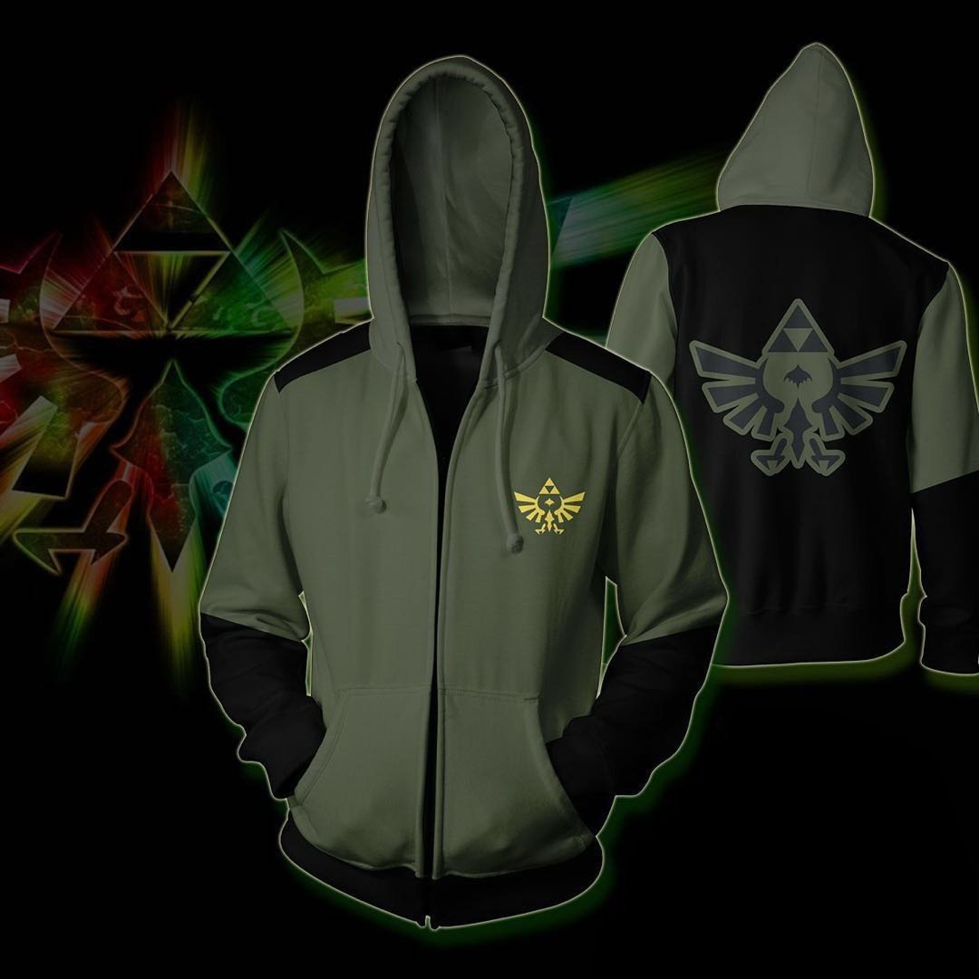The Legend of Zelda Printed Hoodie