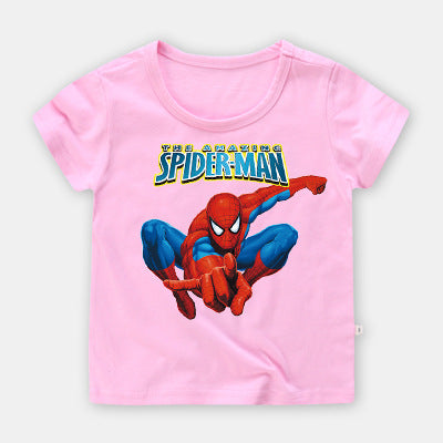Spiderman short sleeve T-shirt for kids