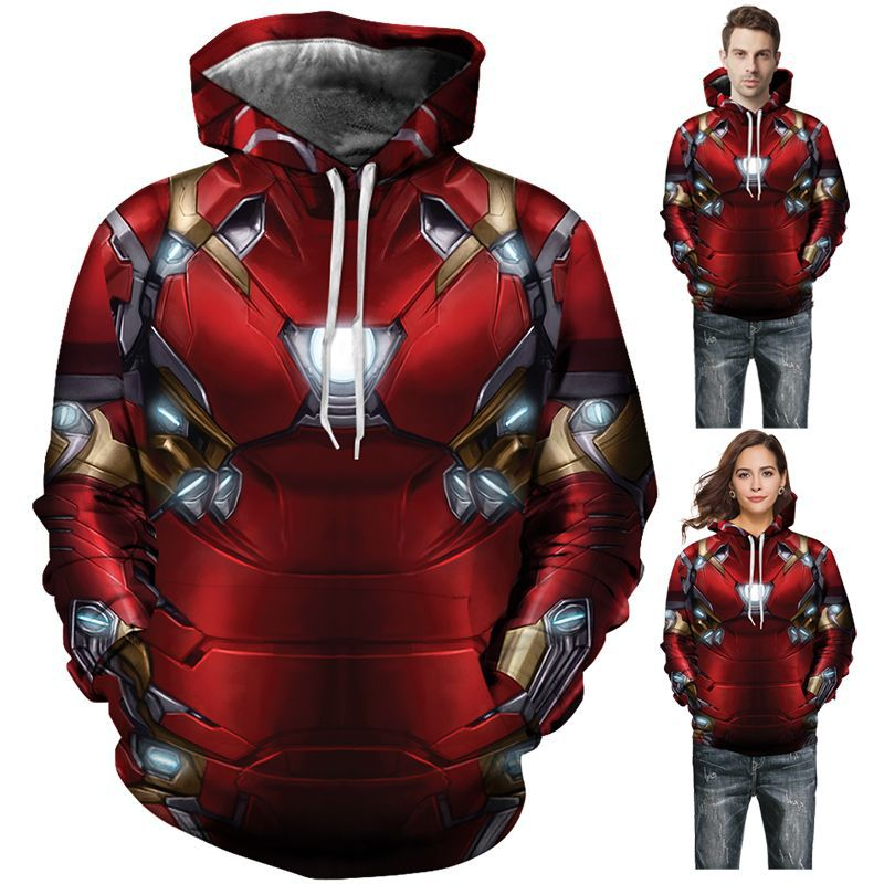 Infinite War Iron Man 3D Digital Printing Hoodie