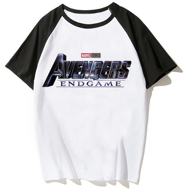 Avengers End Game Comfortable Loose tee top with short sleeves T shirts
