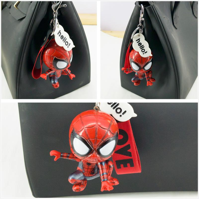 Spider-Man Cute pendant for Key Chain Car and Bags