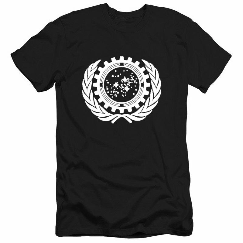 ST Series United Federation of Planets Printed T-shirt