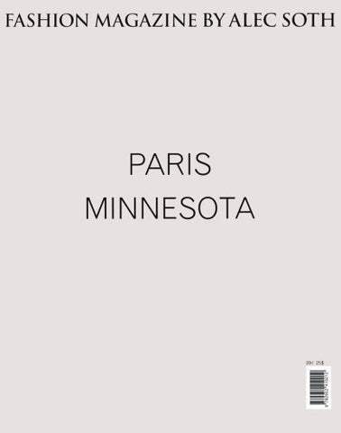 Paris Minnesota - Fashion Magazine: by Alec Soth - Alec Soth