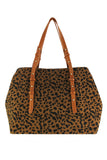 Everyday Weekender, Brown Cheetah