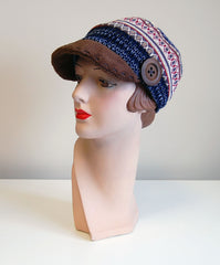 Patchwork Stripe Cap