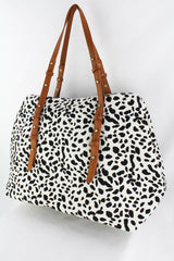 Everyday Weekender, White Cheetah