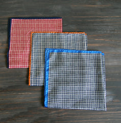 Houndstooth Silk Pocket Squares