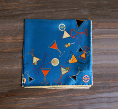 Martini Silk Pocket Square